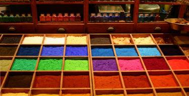 Pigments et coloration