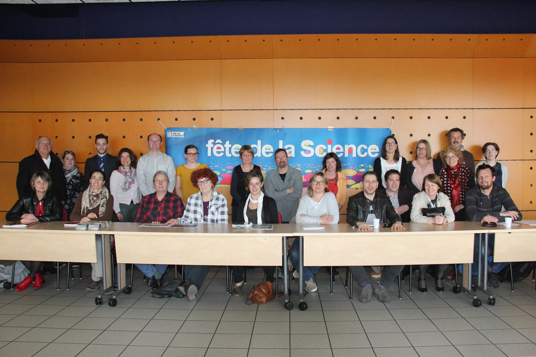 1ère réunion de coordination départementale de la Fête de la Science